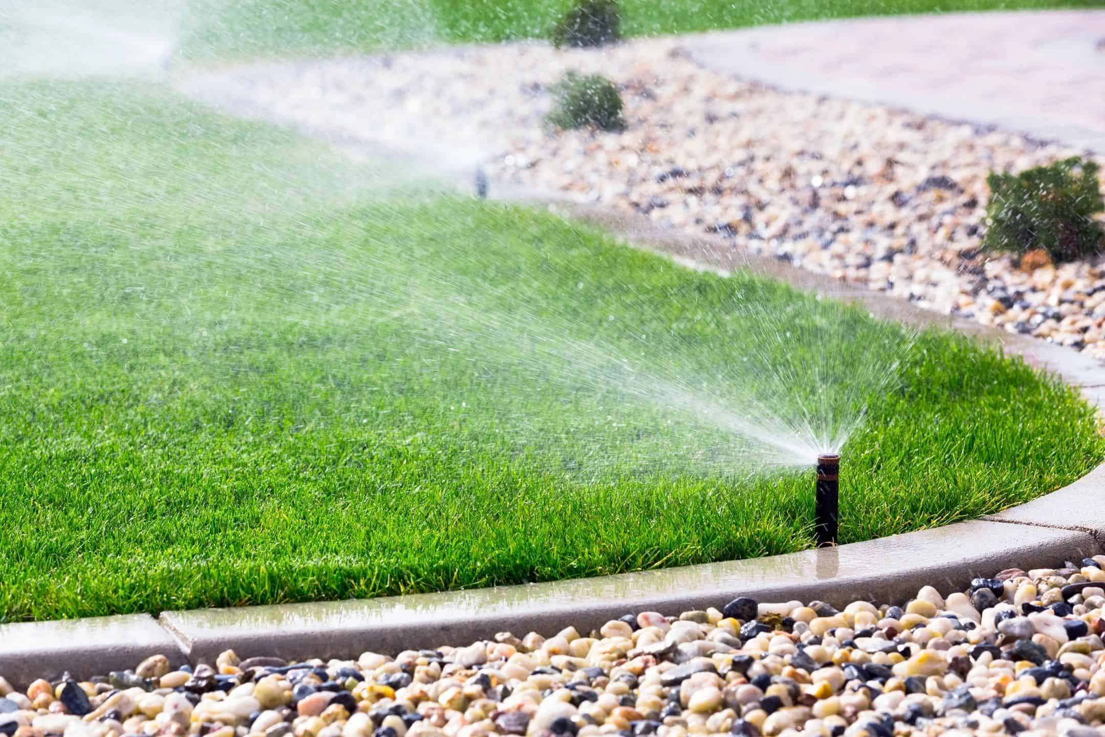 Yard Sprinkler System