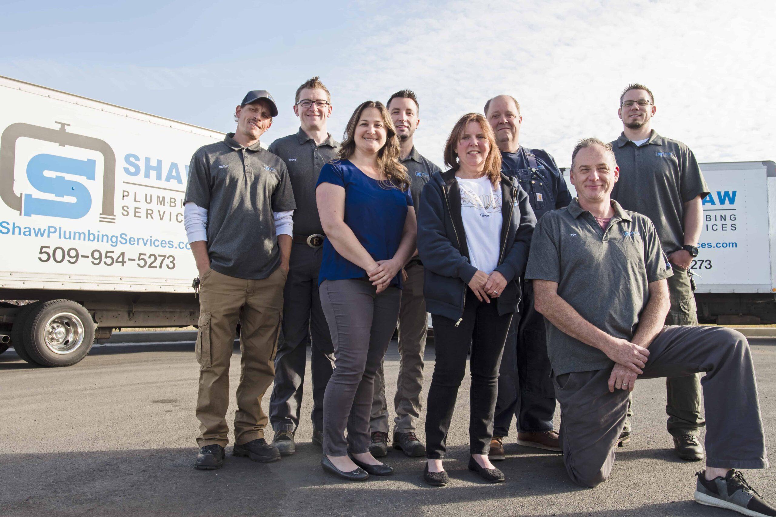 Shaw Plumbing Spokane Crew